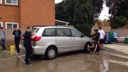 Jazz Band uses their skills at their Car Wash fundraiser