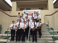 Jazz Band II earns an Excellent rating at Coronado Jazz Festival.