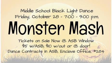 Monster Mash This Friday!